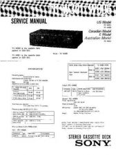 Buy Sony TCM-36459V Service Manual. by download Mauritron #245421