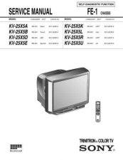 Buy SONY F500T9 Service Schematics Service Information by download #113576