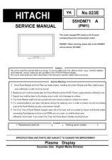 Buy Hitachi YK-023E Service Manual by download Mauritron #265727