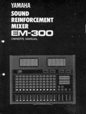 Buy Yamaha EM300E Operating Guide by download Mauritron #247842