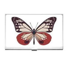 Buy Pink Butterfly Business Credit Card Holder