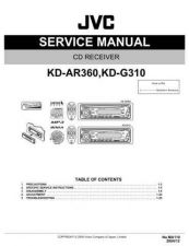 Buy JVC KD-G310U SERVICE MANUAL by download Mauritron #220325