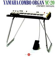 Buy Yamaha YC20E Operating Guide by download Mauritron #250282