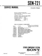 Buy Sony sen-711cd Technical Manual. by download Mauritron #243872