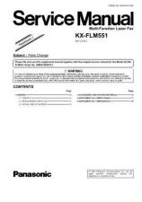 Buy Panasonic KX-FLM600C Service Manual by download Mauritron #267285