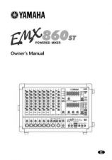 Buy Yamaha EMX860ST E Operating Guide by download Mauritron #247884
