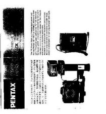 Buy PENTAX TR POWER PACK CAMERA INSTRUCTIONS by download #119175