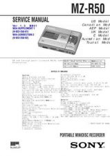 Buy Sony MZ-R37 1.3 service manual Technical Manual. by download Mauritron #243171