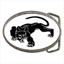 Buy Black Panther Wild Cat Art Unisex Belt Buckle