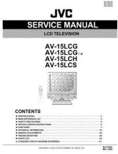 Buy JVC AV-14F704 part Service Manual Schematic Circuit. by download Mauritron #269409