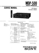 Buy Sony MDP-510-722GX Service Manual. by download Mauritron #242439