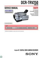 Buy Sony DCR-TRV738E-TRV740-TRV40E-TRV840 Service Manual by download Mauritron #239