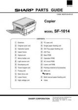 Buy Sharp SF-1014 Parts Guide by download Mauritron #231438
