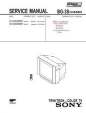 Buy SONY KVXG29M61 CHASSIS BG3S Technical Info by download #104804