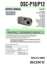 Buy Sony DSC-P3. (2) Service Manual by download Mauritron #240225