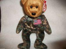 Buy TY Beanie Babies Hero the bear Bean Stuffed Plush Animal/stocking stuffer