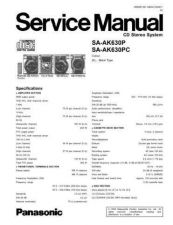 Buy Panasonic MD0511438S7 Service Manual by download Mauritron #267748