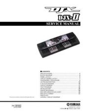 Buy Yamaha djx ii sm e Manual by download Mauritron #256030