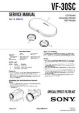 Buy Sony VF-30SC Service Manual by download Mauritron #241914