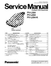 Buy Panasonic MKE0602601SE Service Manual by download Mauritron #267943