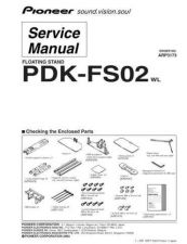 Buy Pioneer PDK-FS02 Service Manual by download Mauritron #234696