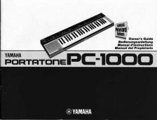 Buy Yamaha PC1002E Operating Guide by download Mauritron #249110