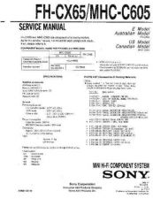 Buy Sony F-V220V320V420 Service Manual by download Mauritron #240767