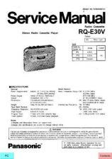 Buy Panasonic RR-US395E Service Manual by download Mauritron #268517
