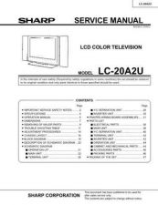 Buy Sharp LC20A2U PG GB(1) Service Manual by download Mauritron #209880