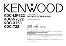 Buy Kenwood KDC-MP822 by download Mauritron #222079