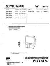 Buy Sony KP-53S70 Service Manual. by download Mauritron #242115