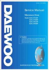 Buy Daewoo G371G0P001(r) Manual by download Mauritron #226111