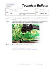 Buy Panasonic tb-06-01 Service Manual by download Mauritron #268977