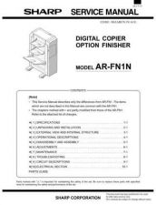 Buy Sharp ARFN3 Service Manual by download Mauritron #208278