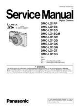 Buy Panasonic DMC-LZ2GT Service Manual with Schematics by download Mauritron #266921