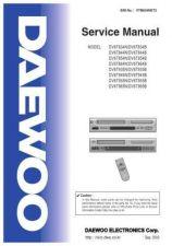Buy Daewoo. COMBO_DV6T834N(Final). Manual by download Mauritron #212696