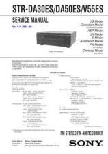 Buy Sony STR-DA9000ES Service Manual. by download Mauritron #245067