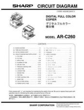 Buy Sharp ARC260P CD GB(1) Service Manual by download Mauritron #208197