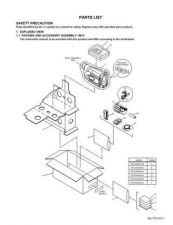 Buy JVC GR-SXM260USPARTS Service Manual Schematic Circuit. by download Mauritron #270816