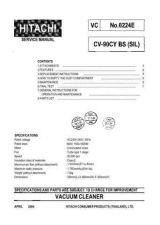 Buy Hitachi CV2800B VDE Service Manual by download Mauritron #261677