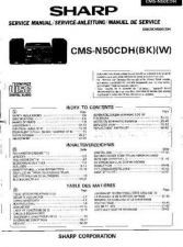 Buy Sharp CMSN50CDH -DE-FR Service Manual by download Mauritron #208724