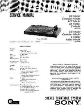 Buy Sony PS-J11 Service Manual. by download Mauritron #243535