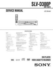 Buy Sony SLV-D300P RMT-V501A (3) Technical Manual. by download Mauritron #243941