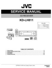 Buy JVC KD-LH811 Service Manual Schematic Circuit. by download Mauritron #271445