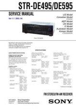 Buy Sony STR-DE635 Service Manual. by download Mauritron #245108