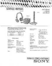 Buy Sony MDR-IF510K Service Manual by download Mauritron #232202