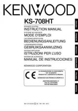 Buy Kenwood KS-708HT Operating Guide by download Mauritron #222838