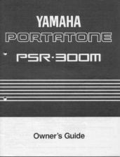 Buy Yamaha PSR300ME Operating Guide by download Mauritron #249328