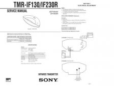 Buy Sony TMR-IF130IF230R[3] Service Manual. by download Mauritron #245564