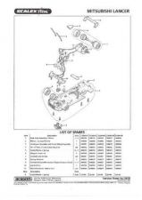 Buy Scalextrix No.335B Mitsubishi Lancer Service Sheets by download Mauritron #2064